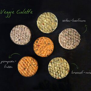 Veggie galette